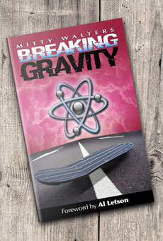 Signed copy of Breaking Gravity